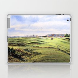 Royal Troon Golf Course Scotland Laptop & iPad Skin