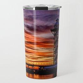 Bicenntenial Tower at Sunset Travel Mug