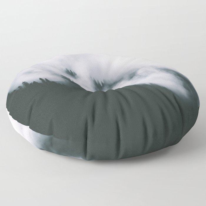 Forest Fog XIII Floor Pillow