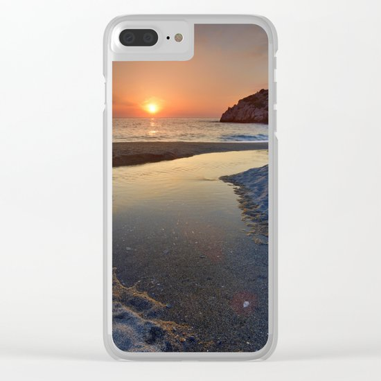 Just last minute Clear iPhone Case