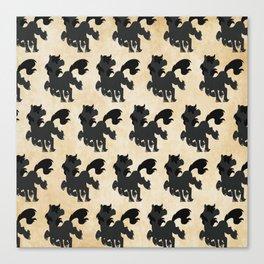 Sleipnir Pattern Canvas Print