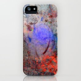 Spatters & Lines iPhone Case