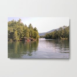 Beautiful Lake George Metal Print
