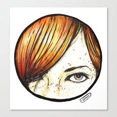 Sucker for a Redhead Canvas Print