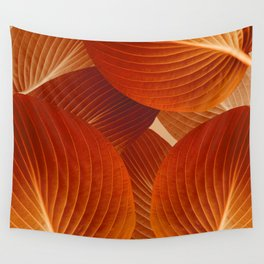 Leaves in Terracotta Color #decor #society6 #buyart Wall Tapestry