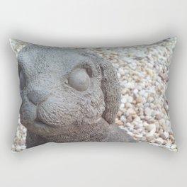 Beware of Bunny Rectangular Pillow