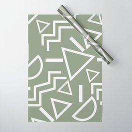 Shapes- lost and found Wrapping Paper