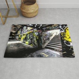 London Graffiti Art Rug