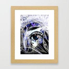 World eye Framed Art Print