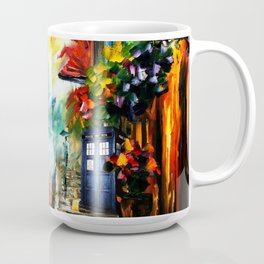 Starry Tardis Night Coffee Mug