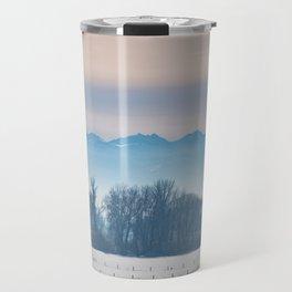 Spanish Peaks Fog Travel Mug