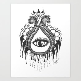 LE LARME Art Print