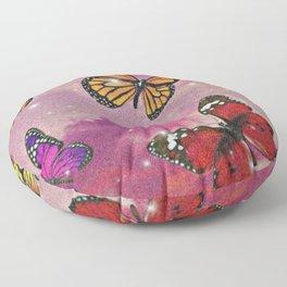Aesthetic Butterflies Floor Pillow