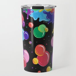 Bubbles colors the World !  Travel Mug