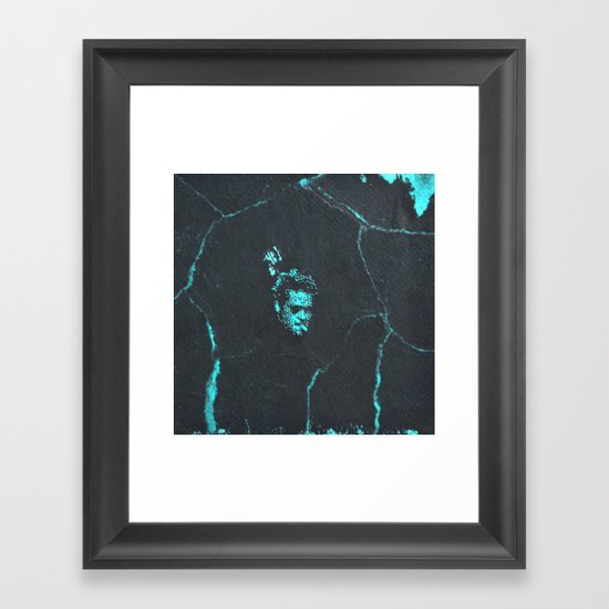 Tyler Durden without the Narrator | Fight Club Framed Art Print