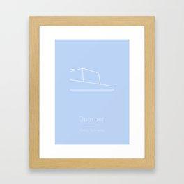 Oslo, Norway Framed Art Print
