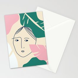 Loving myself Stationery Cards