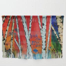 Birch Tree Stitch Wall Hanging