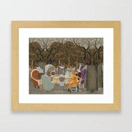little tea party Framed Art Print