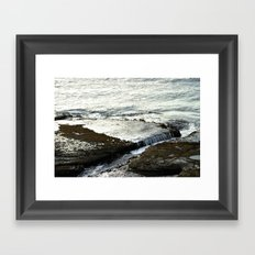 Lava Shelf Framed Art Print