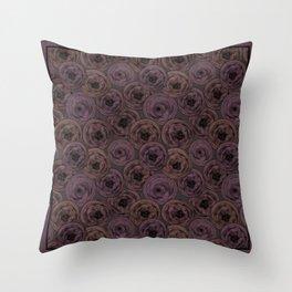 Chocolate velvet . Throw Pillow