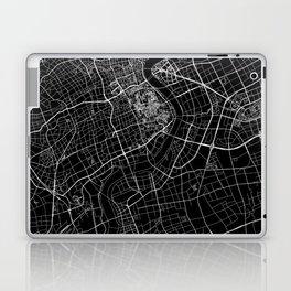 Shanghai Black Map Laptop & iPad Skin