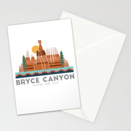 Bryce Canyon National Park Utah Graphic Stationery Cards