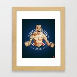 Zlatan Ibrahimovic Framed Art Print
