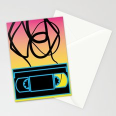 80's problems: VHS Stationery Cards