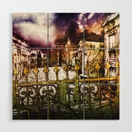New Orleans cemetery Wood Wall Art