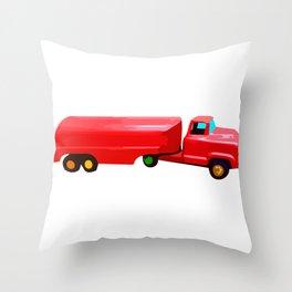 The Love Tanker Throw Pillow