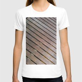 Wood Lines on the ground T-shirt