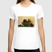 fruits T-shirts featuring Mixed Fruits  by Tanja Riedel