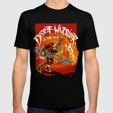 The Doof Warrior vs The Mad MEDIUM Mens Fitted Tee Black