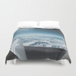 Chilean Andes Duvet Cover