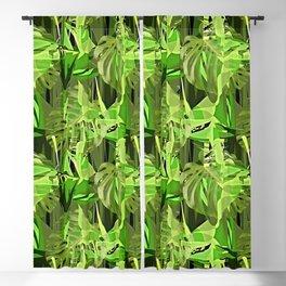 Tropical Greens Blackout Curtain