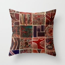 Quilt of a Sort Throw Pillow
