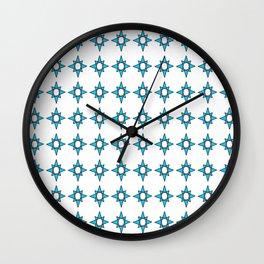 symetric patterns 35 -mandala,geometric,rosace,harmony,star,symmetry Wall Clock