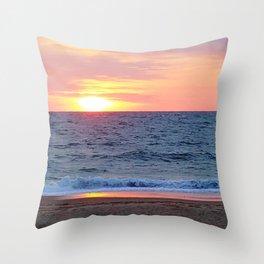 Sunrise in Rehoboth Throw Pillow