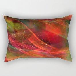 Abstract Shiny Night Lights 12 Rectangular Pillow