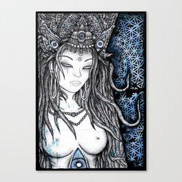 Blau Lha Canvas Print