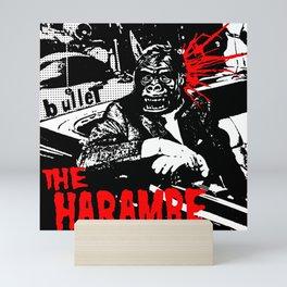 The Harambe Mini Art Print