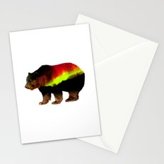 Tired Bear Stationery Cards