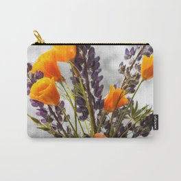 Wildflower Bouquet Photography Print Carry-All Pouch