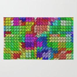 sweeping pattern 01 Rug