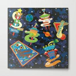 Cosmic Voyage Metal Print