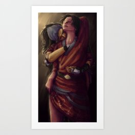 Dragon Age 2: Isabela and Hawke - Pirate Booty Art Print