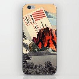 Mt. Red iPhone Skin