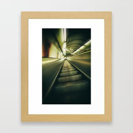 On the run Framed Art Print
