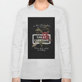 Harry Styles Sweet Creature Long Sleeve T-shirt